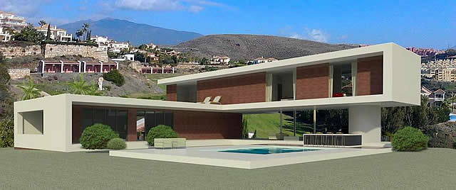 Modern villas brazilian architects marbella for Modern minimalist villa